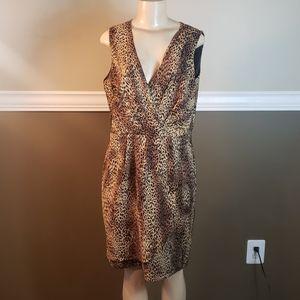 Cheetah print Soho dress euc 12